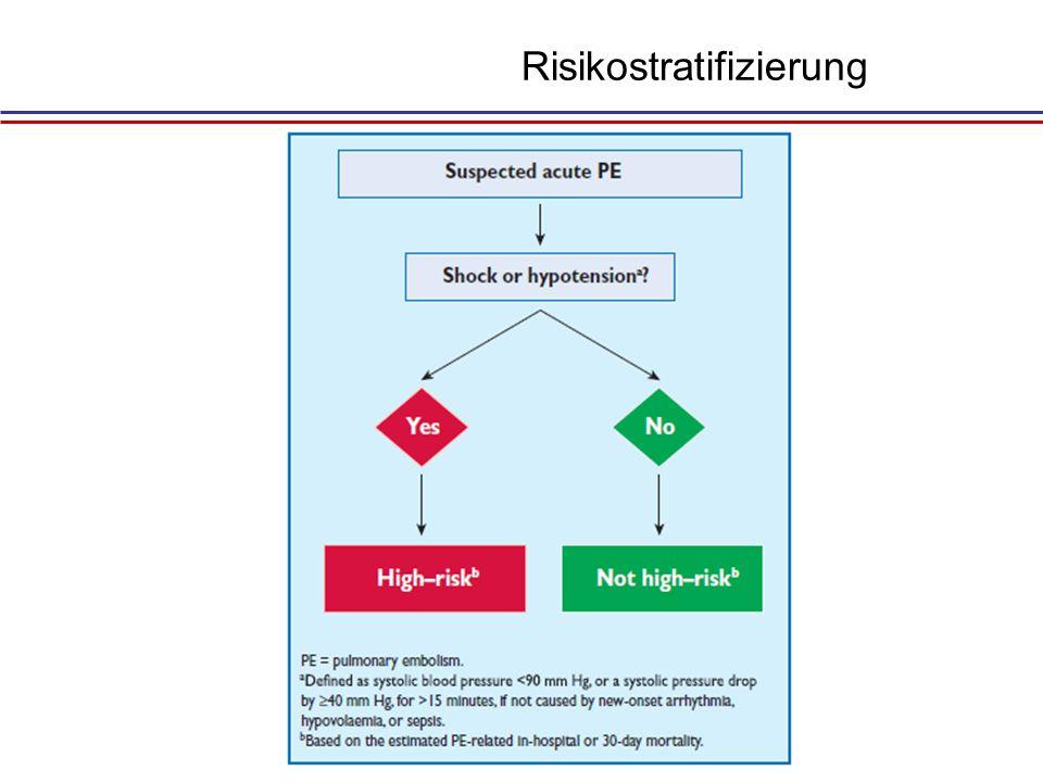 Risikostratifizierung