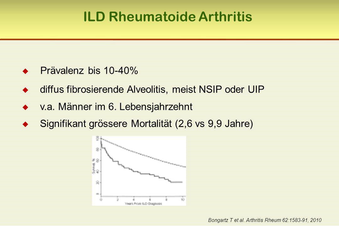 ILD Rheumatoide Arthritis