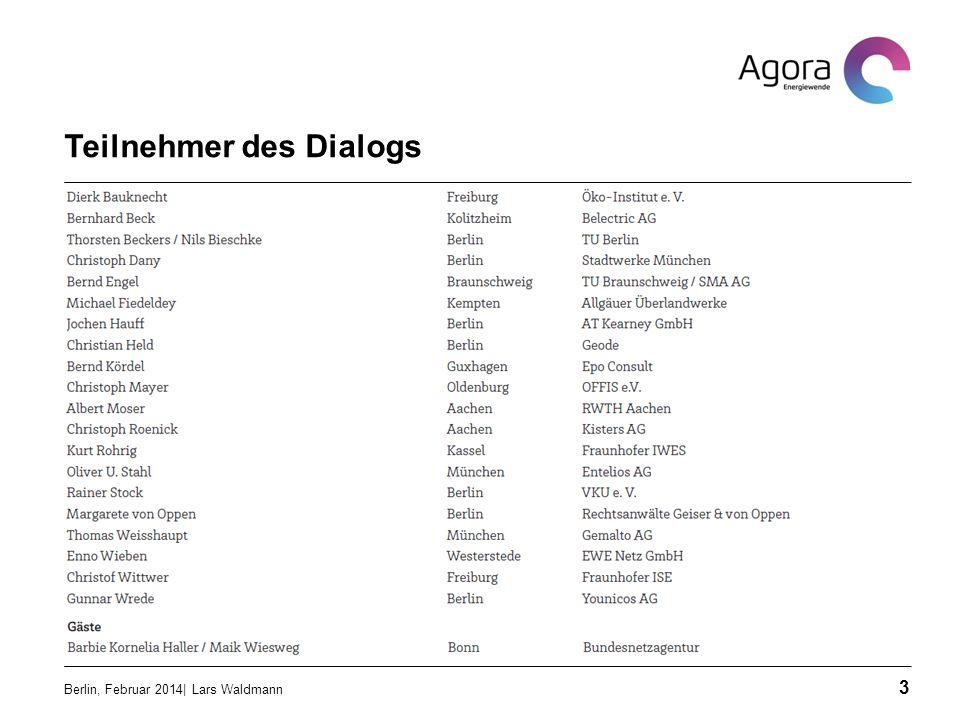 Teilnehmer des Dialogs
