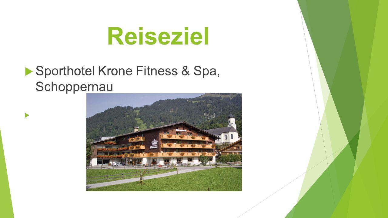 Reiseziel Sporthotel Krone Fitness & Spa, Schoppernau