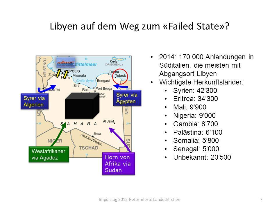 Libyen auf dem Weg zum «Failed State»