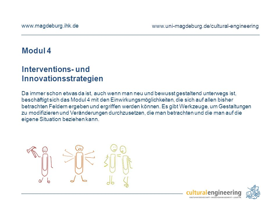 Interventions- und Innovationsstrategien