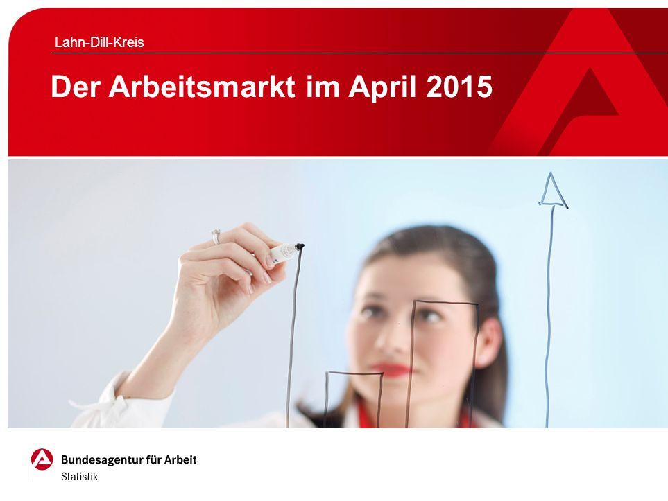 Der Arbeitsmarkt im April 2015