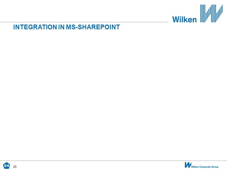 INTEGRATION IN MS-SHAREPOINT