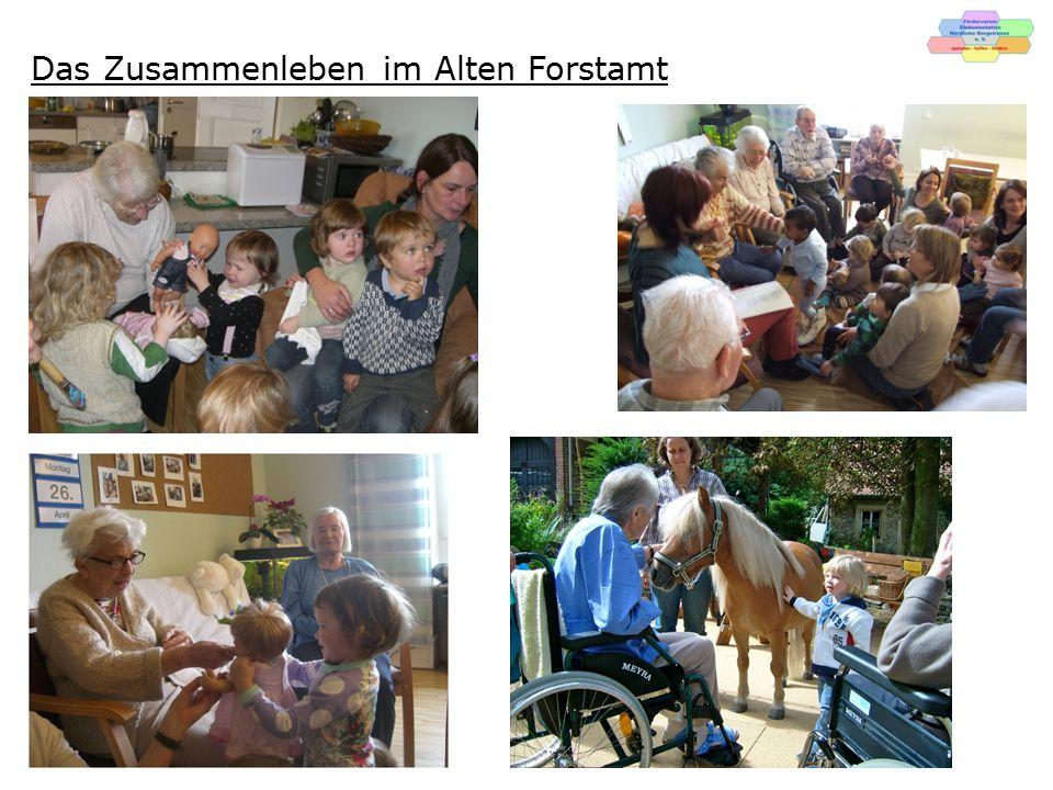 Das Zusammenleben im Alten Forstamt