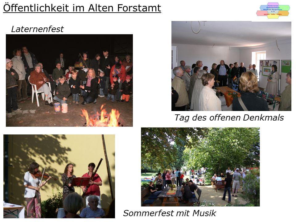 Öffentlichkeit im Alten Forstamt