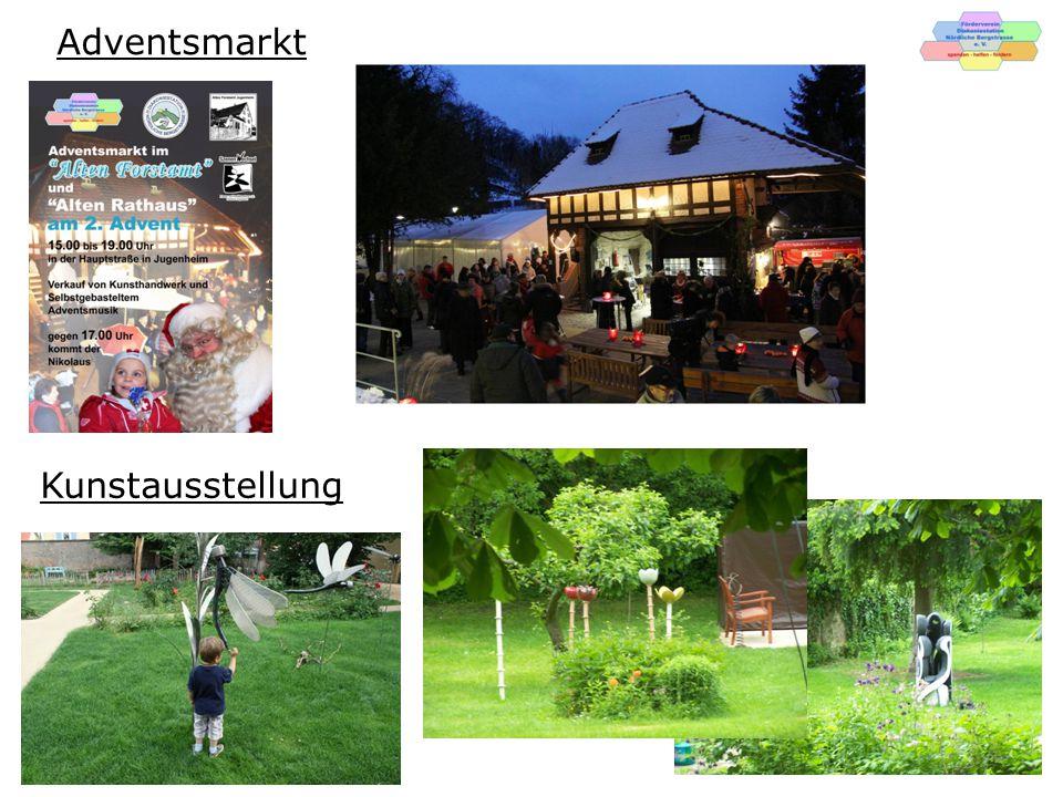 Adventsmarkt Kunstausstellung