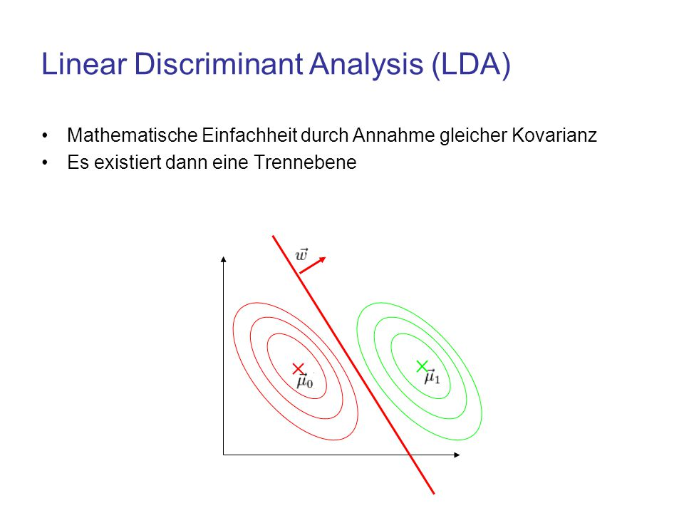 Linear Discriminant Analysis (LDA)