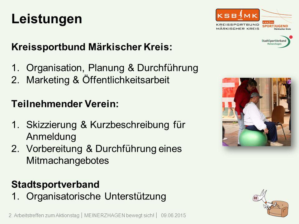 Leistungen Kreissportbund Märkischer Kreis: