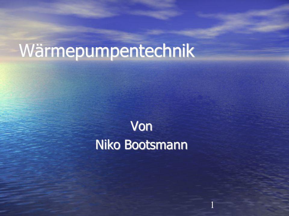 Wärmepumpentechnik Von Niko Bootsmann