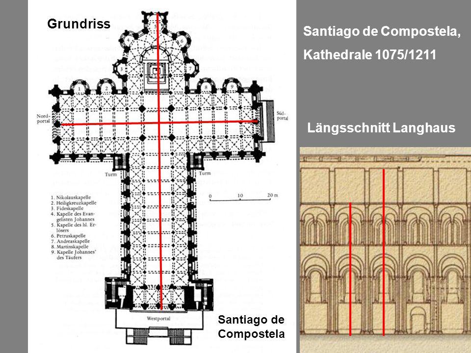 Santiago de Compostela, Kathedrale 1075/1211