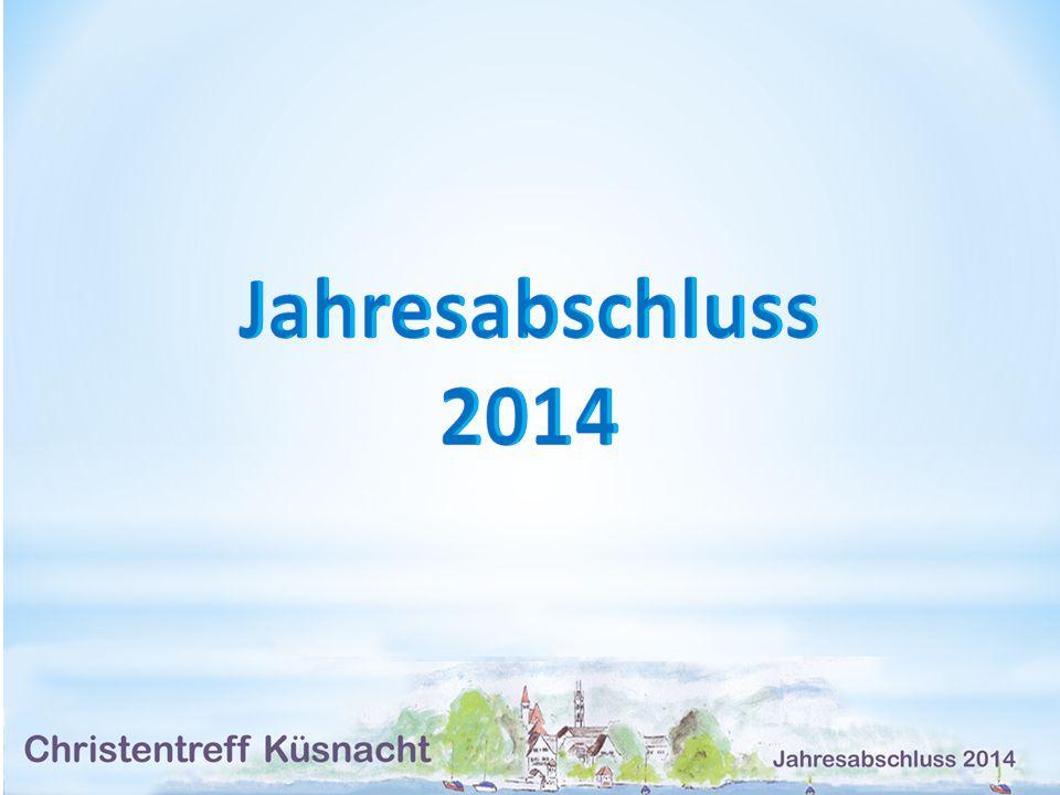 Jahresabschluss 2014 Jahresabschluss 2014