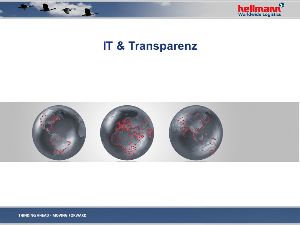 IT & Transparenz We Are Hellmann