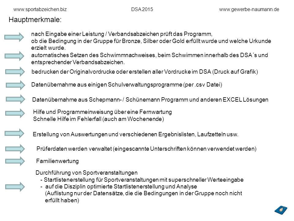 www.sportabzeichen.biz DSA 2015 www.gewerbe-naumann.de