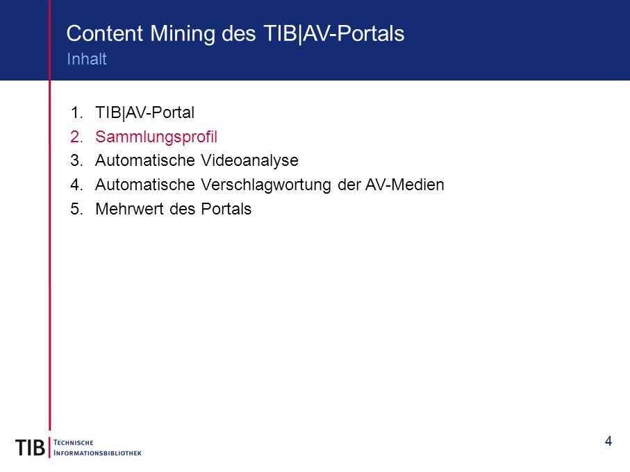 Content Mining des TIB|AV-Portals