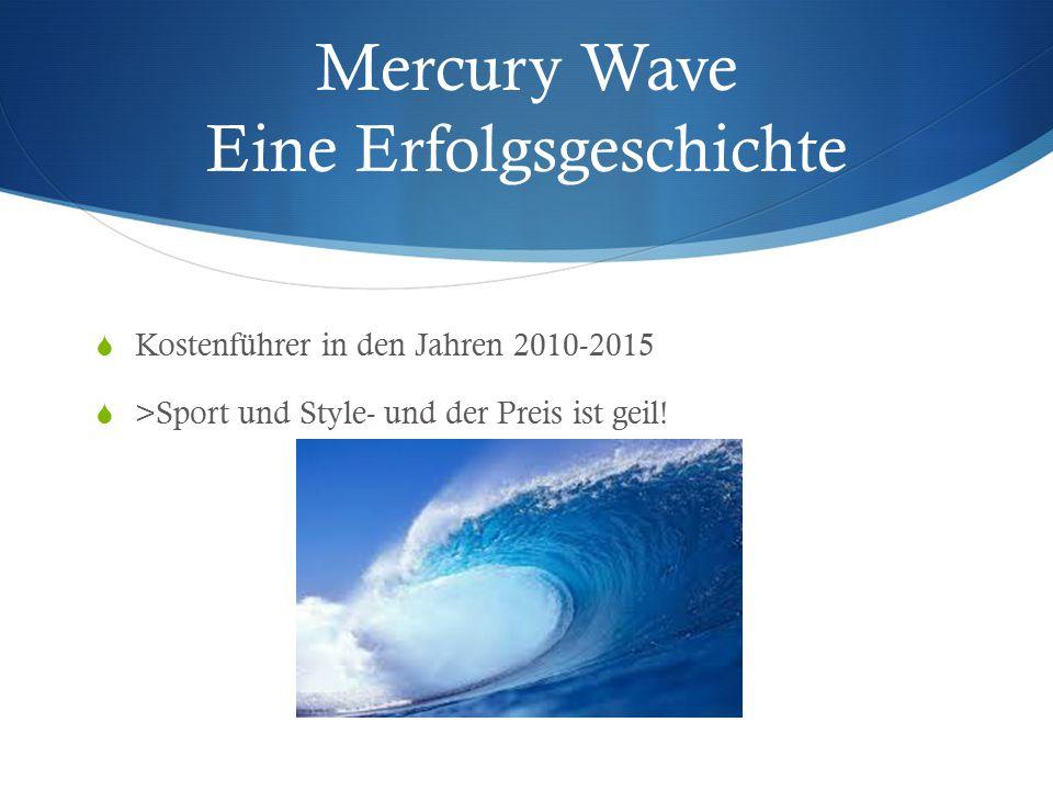 Mercury Wave Eine Erfolgsgeschichte