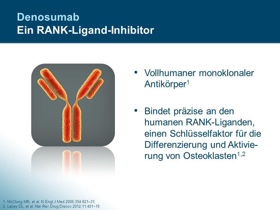 Denosumab Ein RANK-Ligand-Inhibitor