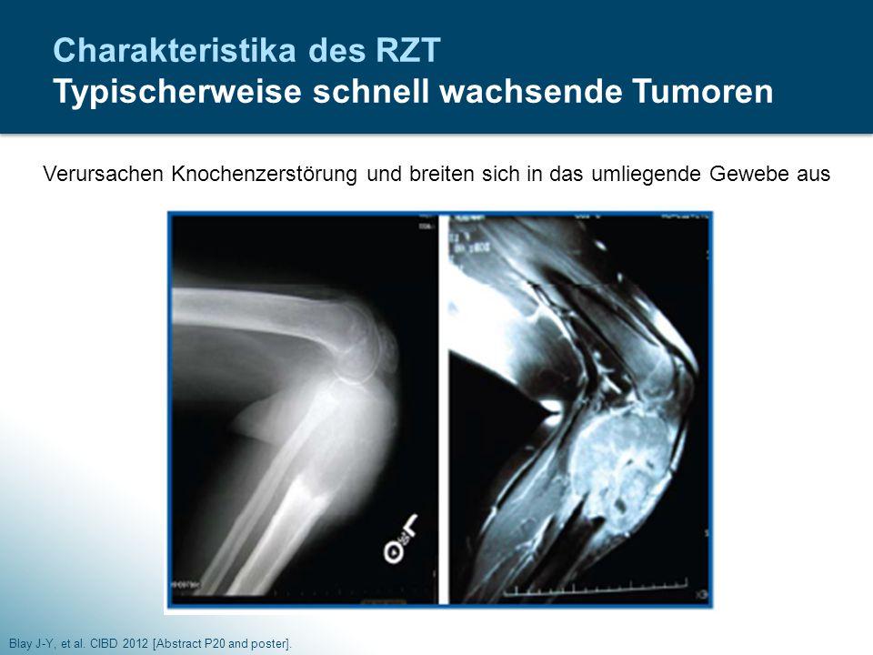 Charakteristika des RZT Typischerweise schnell wachsende Tumoren