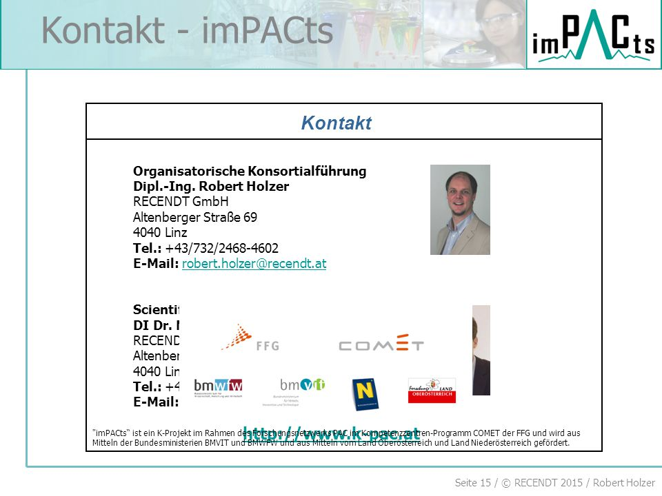 Kontakt - imPACts Kontakt National Partners