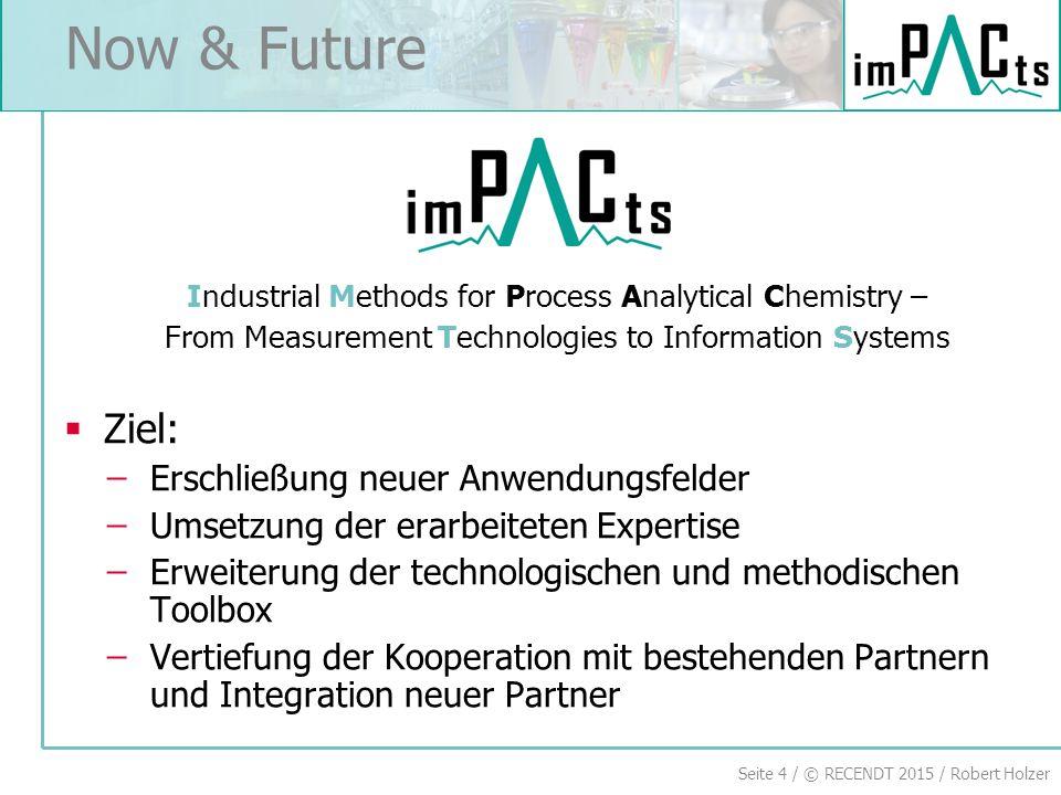 Now & Future Ziel: Erschließung neuer Anwendungsfelder