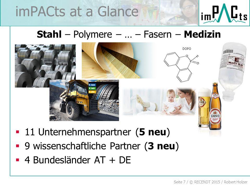 Stahl – Polymere – … – Fasern – Medizin