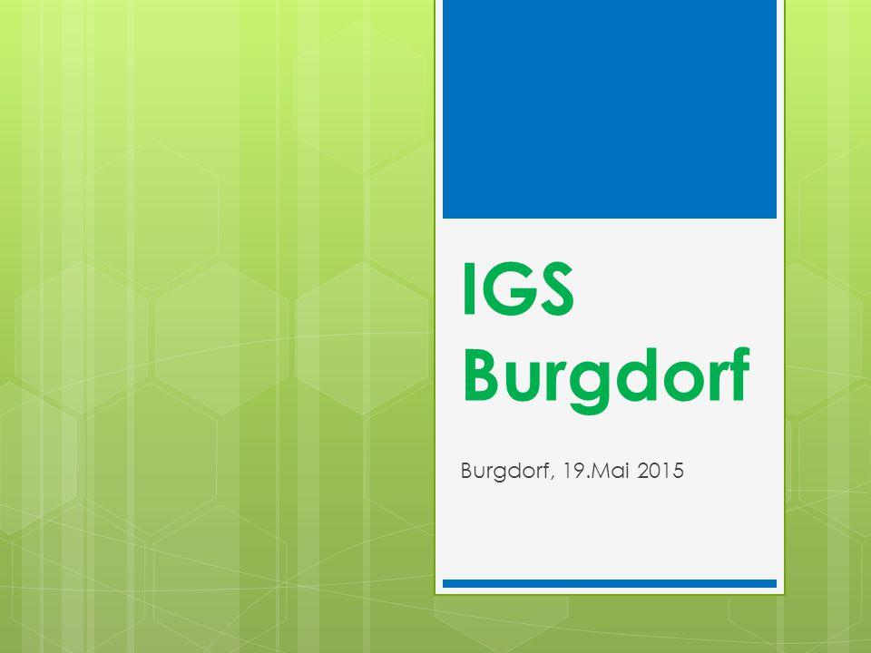 IGS Burgdorf Burgdorf, 19.Mai 2015