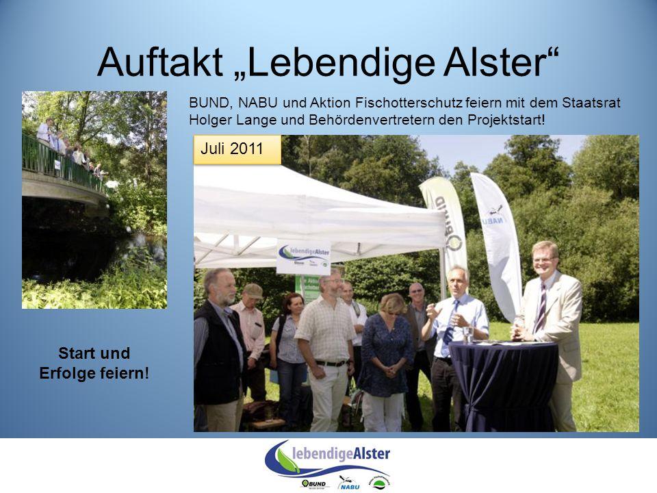 """Auftakt """"Lebendige Alster"""