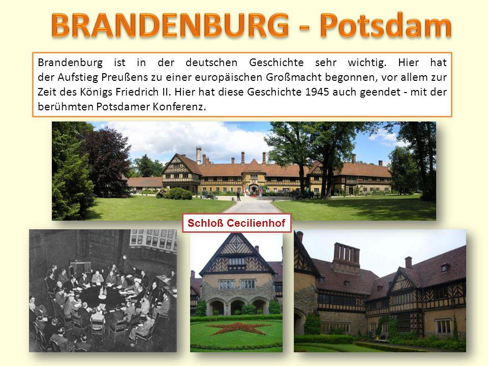 BRANDENBURG - Potsdam