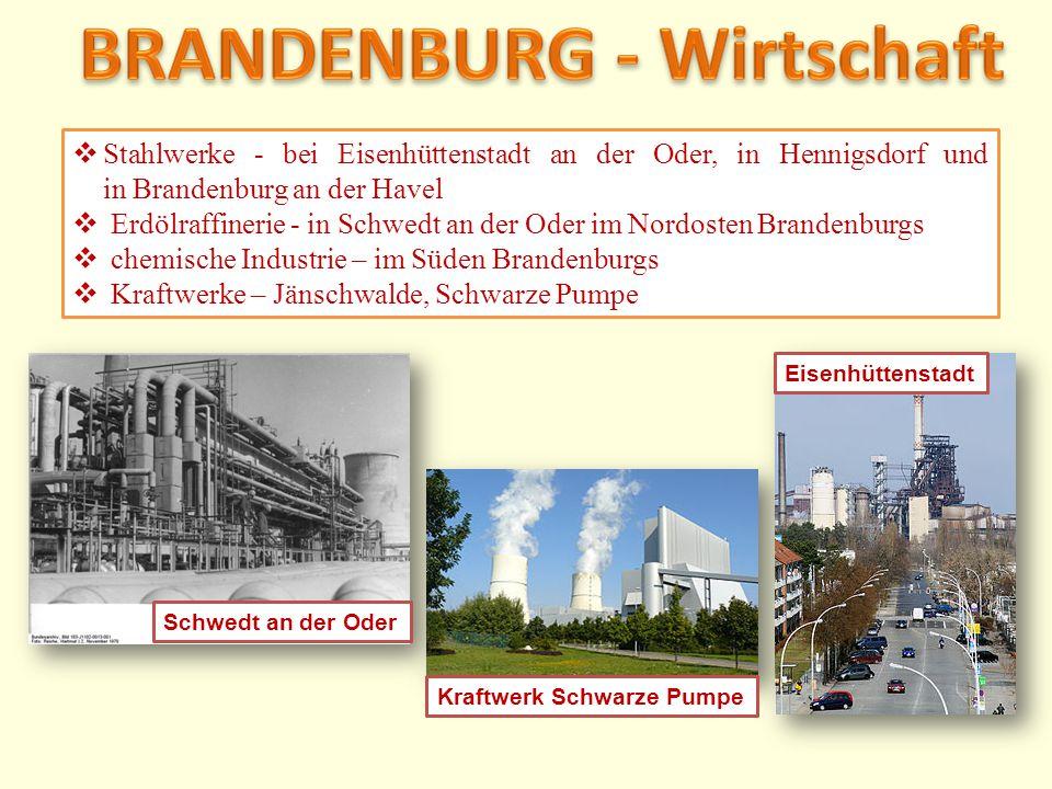 BRANDENBURG - Wirtschaft