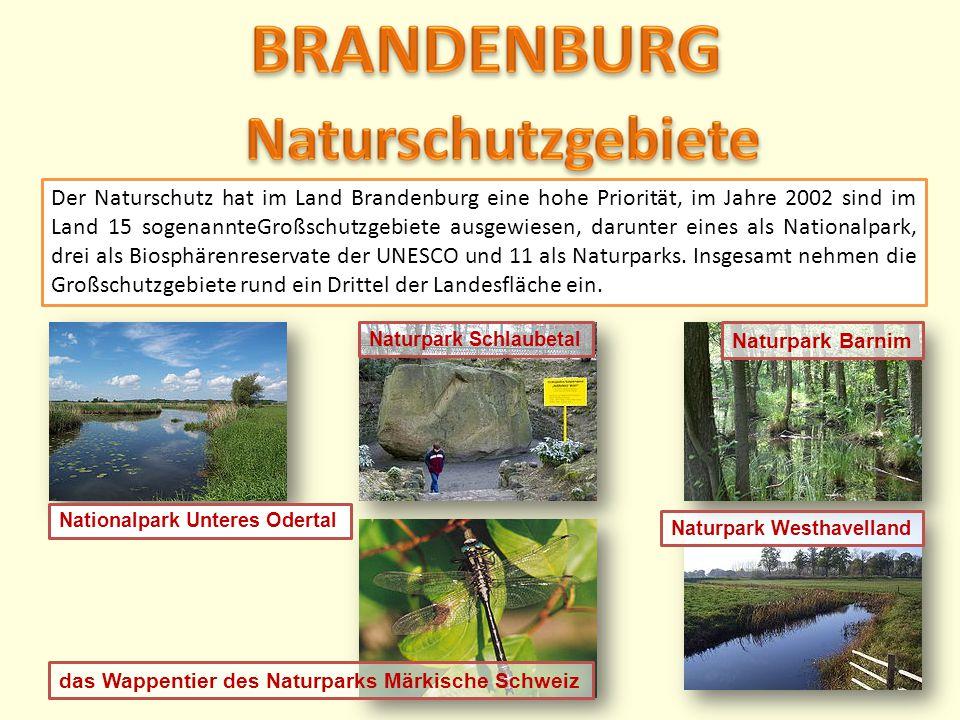 BRANDENBURG Naturschutzgebiete