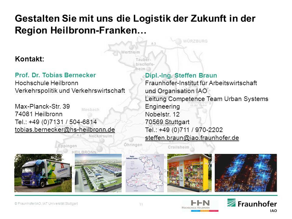 Gestalten Sie mit uns die Logistik der Zukunft in der Region Heilbronn-Franken…