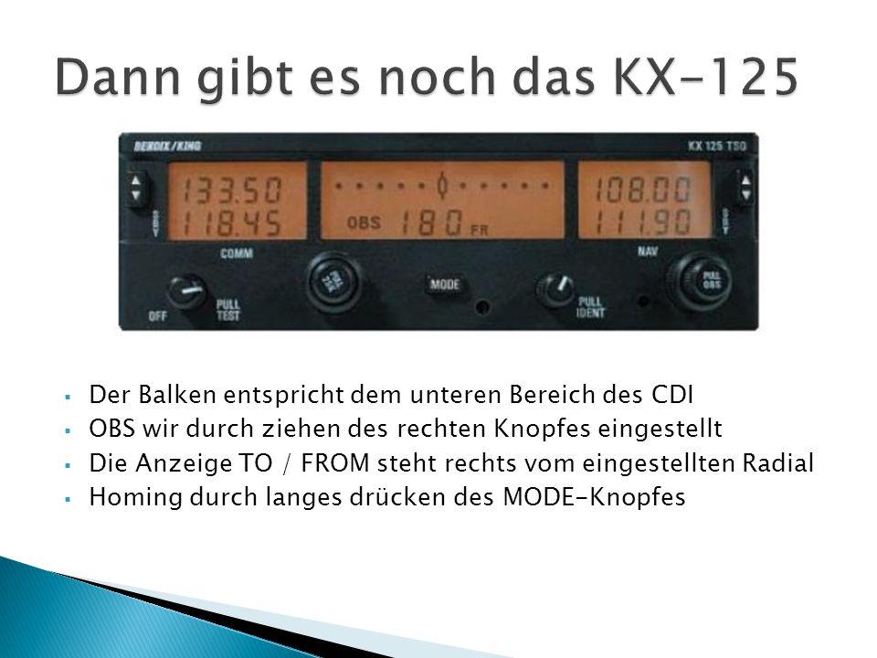 Dann gibt es noch das KX-125