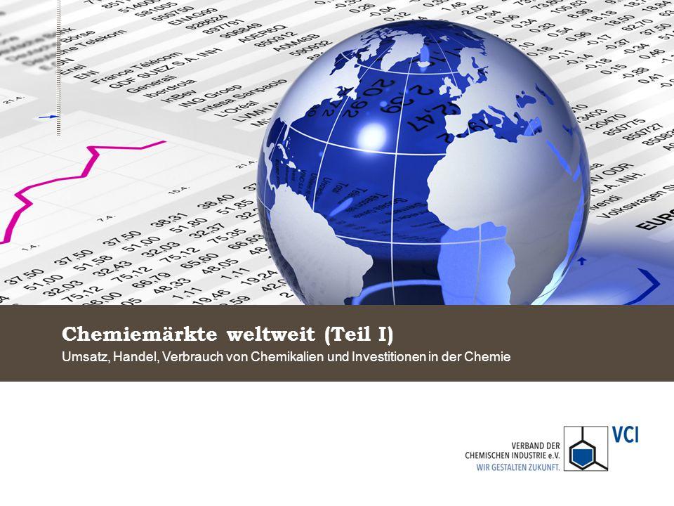 Chemiemärkte weltweit (Teil I)