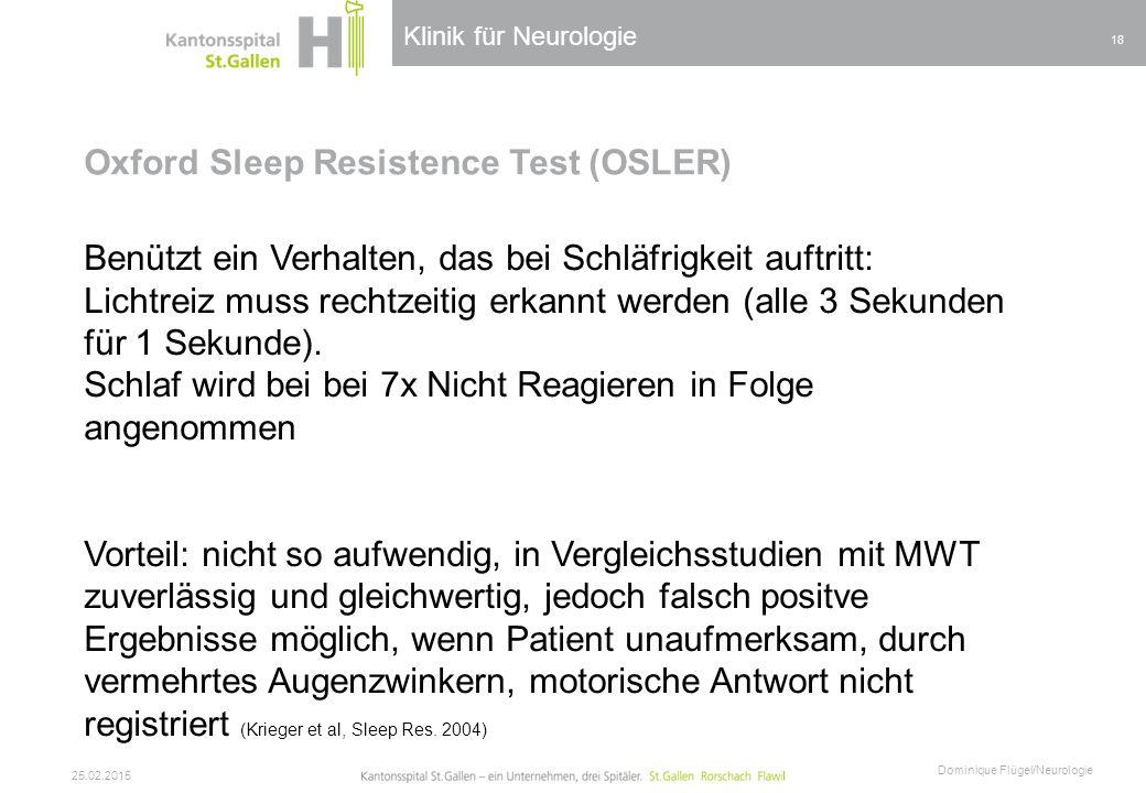 Oxford Sleep Resistence Test (OSLER)