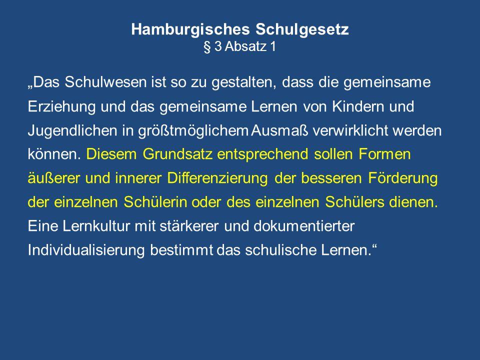 Hamburgisches Schulgesetz § 3 Absatz 1