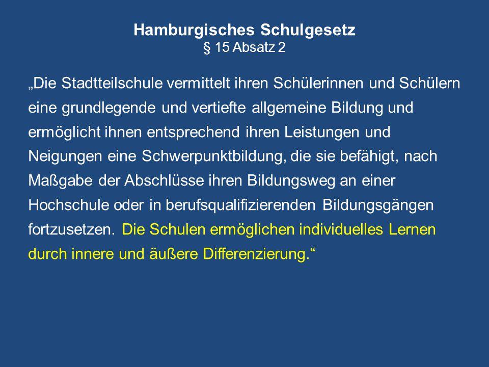 Hamburgisches Schulgesetz § 15 Absatz 2