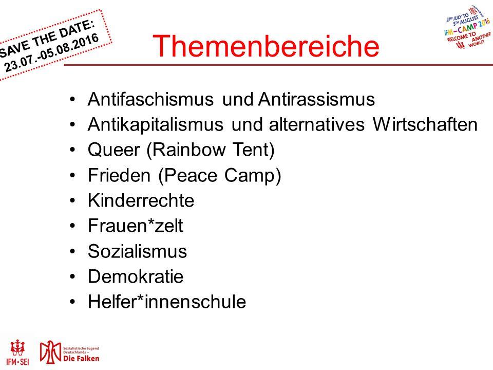 Themenbereiche Antifaschismus und Antirassismus
