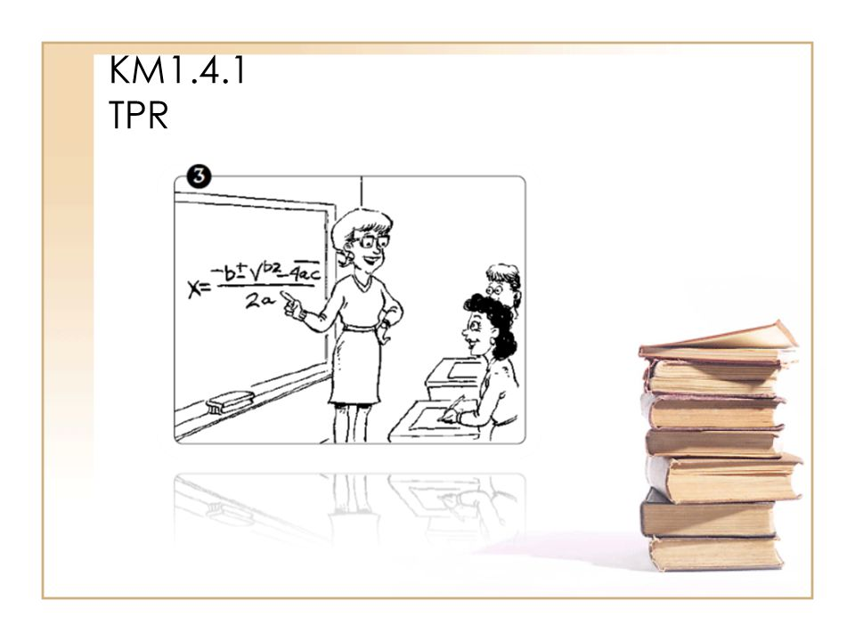 KM1.4.1 TPR Danach hat sie Mathe. Sie findet die Mathelehrerin toll.