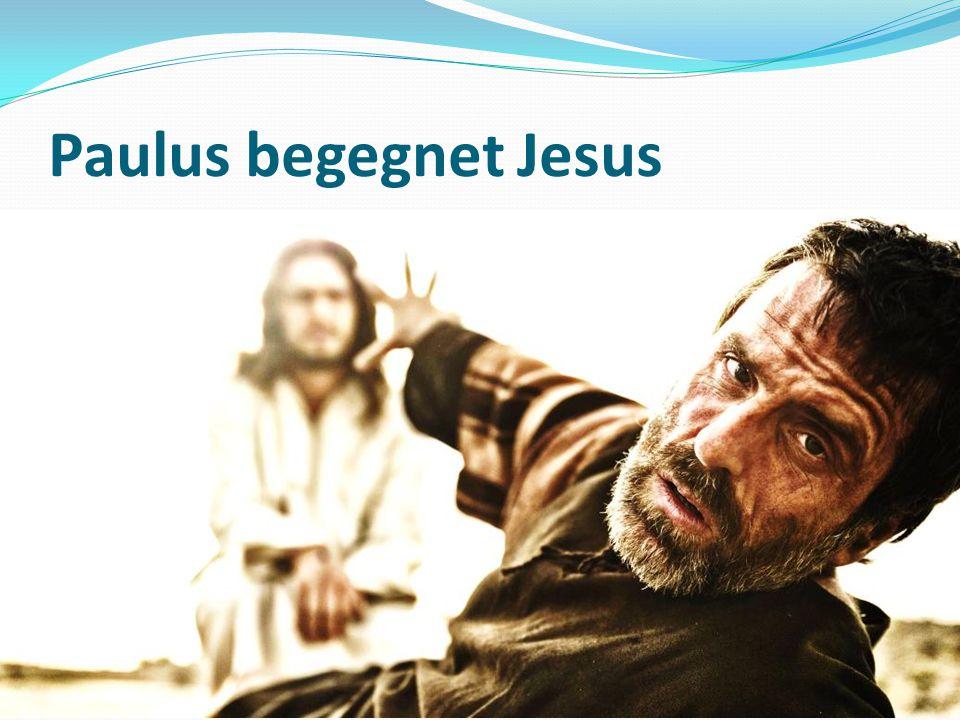 Paulus begegnet Jesus