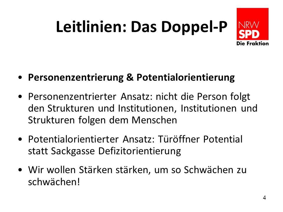 Leitlinien: Das Doppel-P