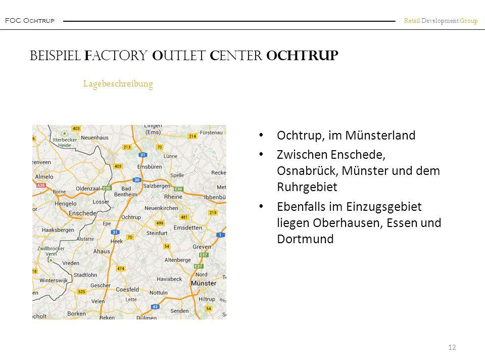 Beispiel Factory Outlet Center Ochtrup