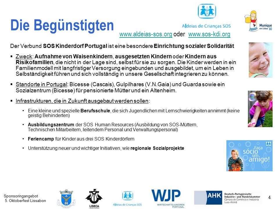 Die Begünstigten www.aldeias-sos.org oder www.sos-kdi.org