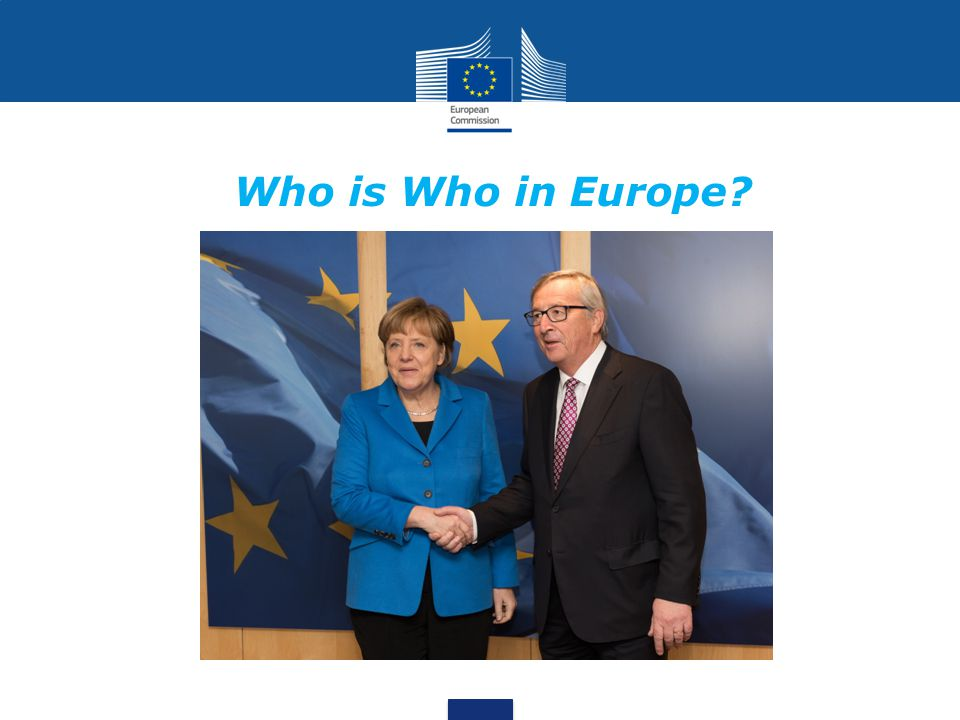 Who is Who in Europe