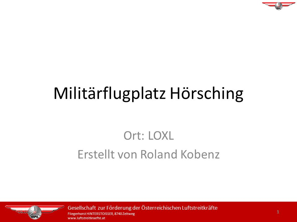 Militärflugplatz Hörsching