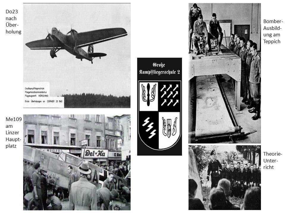 Do23 nach Über-holung Bomber- Ausbild-ung am Teppich.