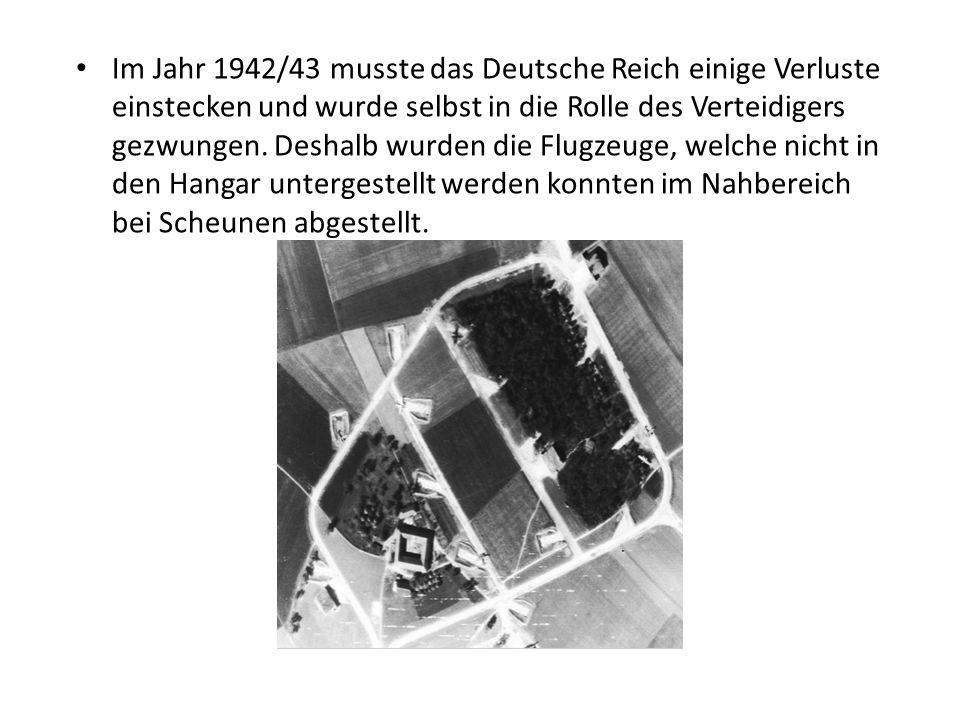Im Jahr 1942/43 musste das Deutsche Reich einige Verluste einstecken und wurde selbst in die Rolle des Verteidigers gezwungen.