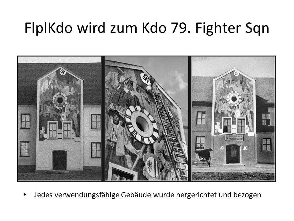 FlplKdo wird zum Kdo 79. Fighter Sqn