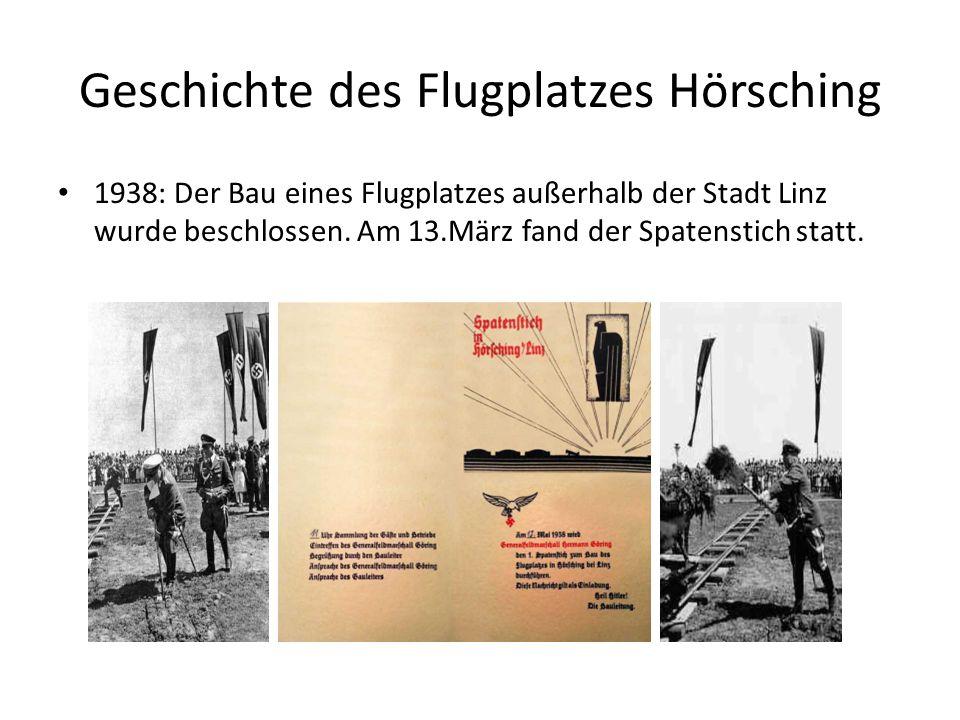 Geschichte des Flugplatzes Hörsching