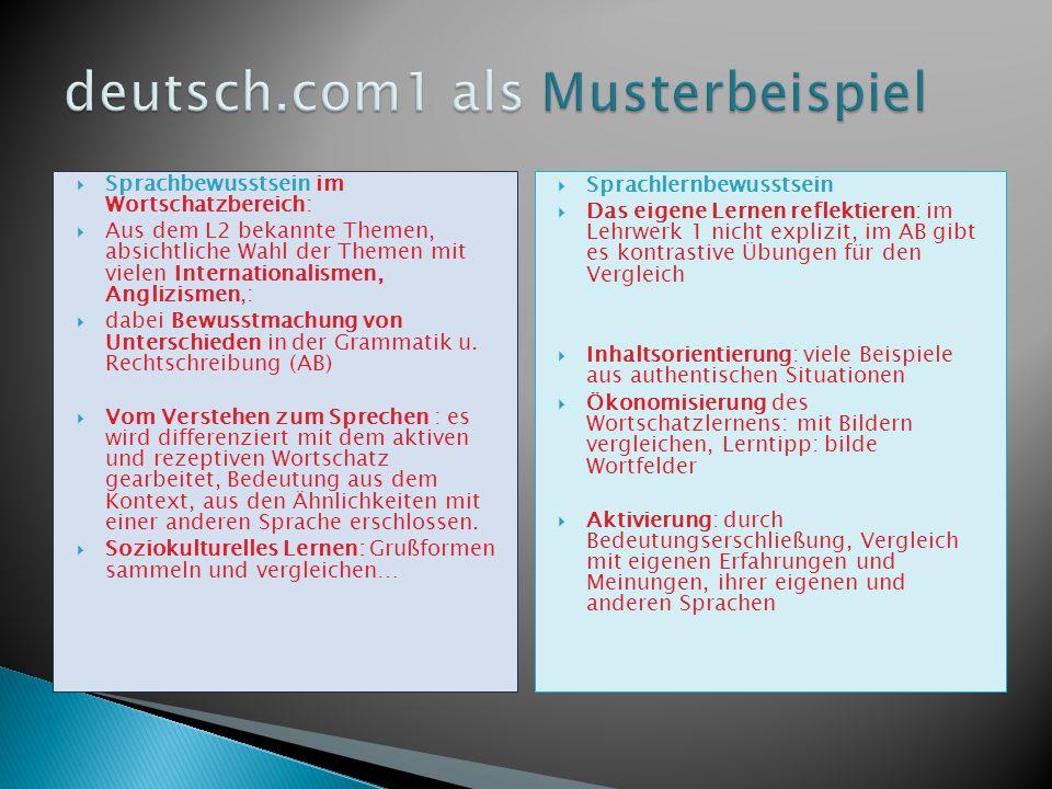 deutsch.com1 als Musterbeispiel
