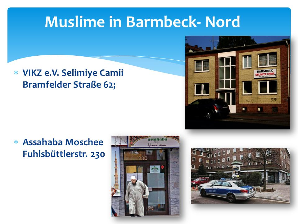 Muslime in Barmbeck- Nord